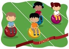 Deportes de los niños Imágenes de archivo libres de regalías