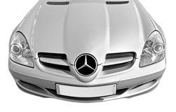 Deportes del Benz de Mercedes Imagen de archivo libre de regalías