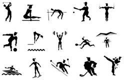 Deportes del vector Imágenes de archivo libres de regalías