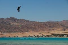 Deportes en Dahab de Egipto Foto de archivo libre de regalías