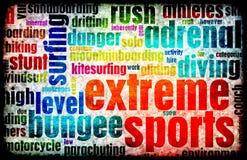 Deportes extremos Imagen de archivo libre de regalías