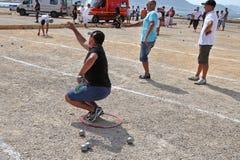 Deportes Marsella Francia - 20 de agosto 2012 Foto de archivo libre de regalías
