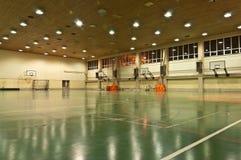 Deportes pasillo de la escuela imagenes de archivo