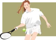 Deportes, tenis Stock de ilustración