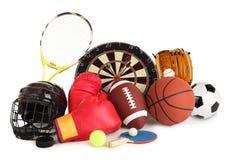 Deportes y arreglo de los juegos imagen de archivo