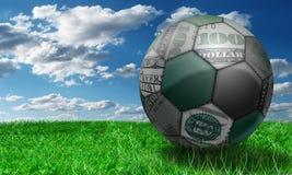 Deportes y dinero. Fotografía de archivo libre de regalías
