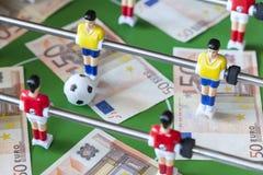 Deportes y dinero imagen de archivo libre de regalías