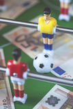 Deportes y dinero imagenes de archivo