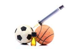 Deportes y drogas fotos de archivo