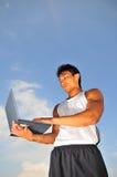 Deportes y tecnolog?a 5 Imagen de archivo libre de regalías
