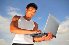 Deportes y tecnolog?a 2 Foto de archivo