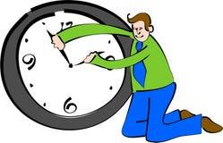 Depositário do tempo ilustração stock
