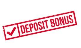 Deposit Bonus rubber stamp Royalty Free Stock Image
