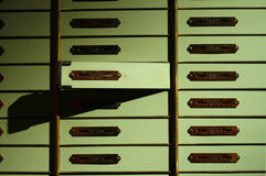 Deposit box Stock Images