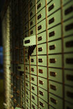Deposit box Royalty Free Stock Photo