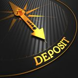 Deposit. Business Background. Royalty Free Stock Photography