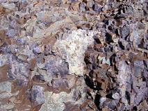 Deposit of fluorite_01. Mineral of fluorite royalty free stock image