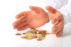 Deposit insurance. Stock Photography