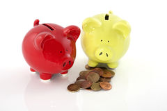 Deposit money Royalty Free Stock Images