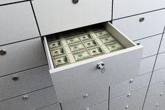 Deposit, money Royalty Free Stock Photography