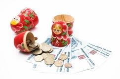 Deposit money Royalty Free Stock Photos