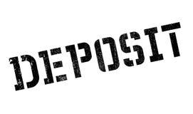 Deposit rubber stamp Stock Image