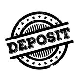 Deposit rubber stamp Royalty Free Stock Photo
