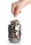Deposit your budget Stock Photo