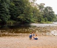 Deposita el río Fotos de archivo libres de regalías