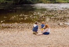Deposita el río Foto de archivo libre de regalías