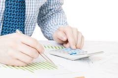 Depositando, taxando e todas as coisas relativas com o mundo da finança Fotografia de Stock Royalty Free