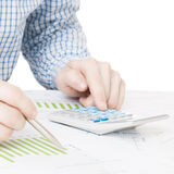 Depositando, taxando e todas as coisas relativas com o mundo da finança - 1 a 1 relações Fotografia de Stock
