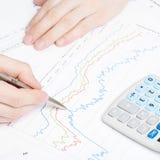 Depositando, taxando e todas as coisas relativas com o mundo da finança - 1 a 1 relações Imagens de Stock