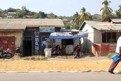 Depositi del locale in Mwanza Tanzania Immagine Stock