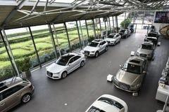 Depositi di Audi 4S Immagine Stock Libera da Diritti