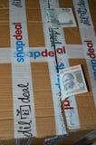 Depositi online di acquisto Immagini Stock Libere da Diritti