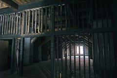 Deposito abbandonato Fotografia Stock