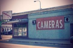 Deposito abbandonato della macchina fotografica Fotografia Stock