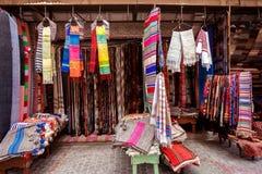 Deposito arabo del tappeto Immagini Stock Libere da Diritti