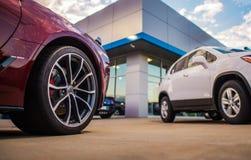 Deposito automobilistico di gestione commerciale fotografia stock libera da diritti