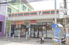 Deposito conveniente di Seven Eleven Fotografia Stock Libera da Diritti