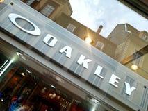 Deposito degli occhiali di Oakley Immagini Stock Libere da Diritti