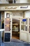 Deposito del formaggio di Kaslöchl a Salisburgo immagine stock libera da diritti