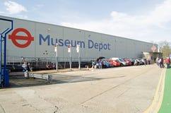 Deposito del museo di trasporto di Londra, Acton Fotografie Stock Libere da Diritti