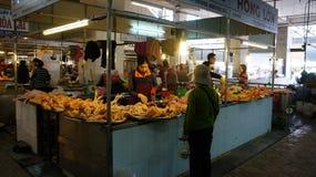 Deposito del pollo nel mercato dell'agricoltore di Dalat Immagine Stock Libera da Diritti