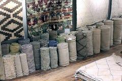 Deposito del tappeto Immagini Stock