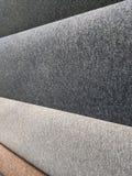 Deposito del tappeto, tappeti su un'esposizione immagini stock