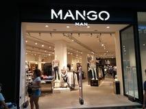 Deposito dell'uomo del mango Fotografie Stock Libere da Diritti