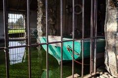 Deposito della barca Immagini Stock