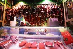 Deposito della carne Fotografia Stock Libera da Diritti